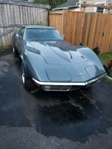 1970 MATCHING NUMBER CORVETTE BARN FIND