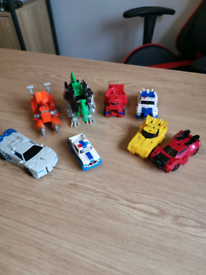 Transformers Robots in Disguise Action Figures