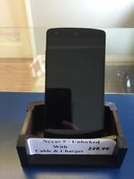 Like New! LG Nexus 5 Unlocked for use with any network!