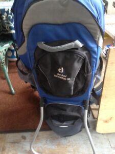 Deuter kid comfort 3 baby carrier hiking backpack