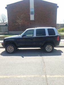 (TRADE)2002 Jeep Liberty fully loaded heated leather seats