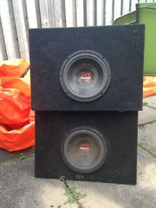 Truck sub boxes