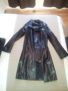 Leather coat - Mantean Cuir Women - Femme XS