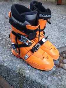 Scarpa Laser touring boots, size 7