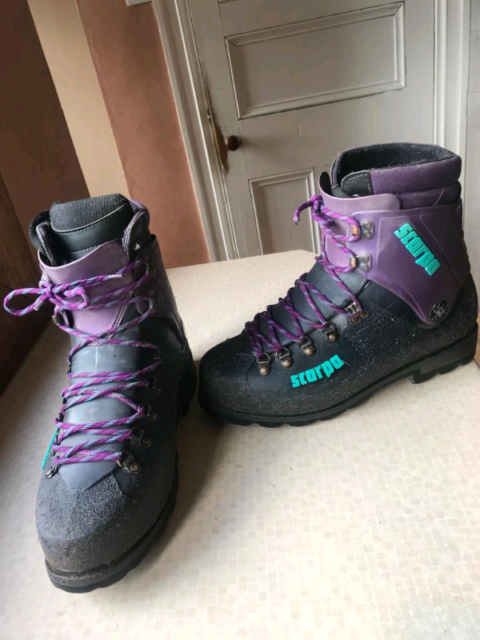 best sell amazing price attractive price Scarpa Mountaineering Plastic Boots | in Whitburn, West Lothian | Gumtree