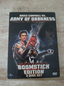 Army of Darkness DVD - 2-disc Boomstick edition -