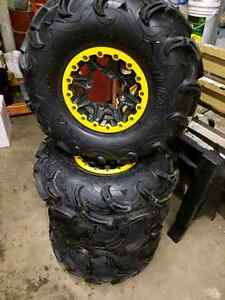 Canam renegade tires wheels
