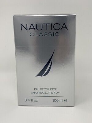 Nautica Classic Cologne By Nautica 3.4 oz / 3.3 oz EDT Spray For Men Brand New