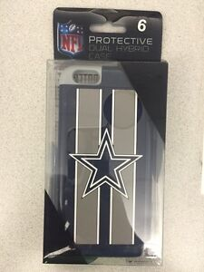 Dallas Cowboys IPhone 6 protective dual hybrid case