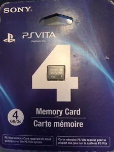 Memory card psvita 4Gb de sony neuf
