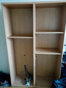 Large Ikea Besta Frame with shelves Storage