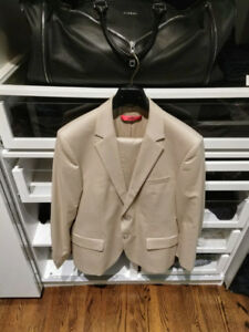 Hugo Boss Men's Suit Beige Jacket & Pants