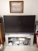 """51"""" TV with Stand - $100"""