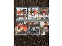 6 x PS3 games