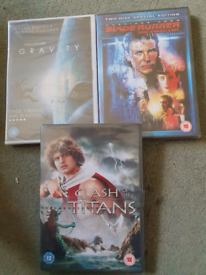 DVD's New and Sealed