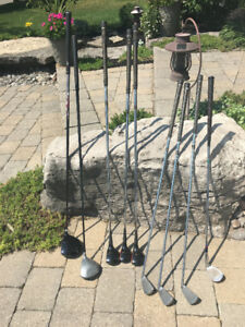 Mixed Left Executive golf clubs