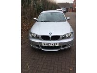 BMW sport 5dr 1 series 2008
