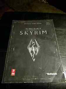 Official Prima Skyrim Strategy Guide