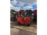 Flexi LPG Forklift, FFLT, 2 ton lift with side-shift, 5900 hrs,