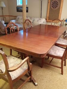 1950s Duncan Phyfe style Knechtel dining suite - O.B.O.