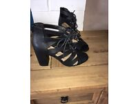 Strappy Shoe Boots Lace Up 5