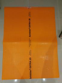 schluter ditra uncoupling tiling membrane