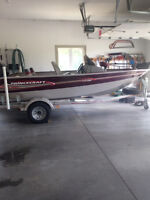 2004 princecraft with 2007 mercury 60 hp efi 4 stroke outboard