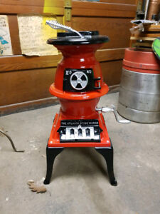 Antique Pot Belly Coal Caboose Heater 1889