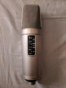 Rode NT2A Professional Studio mic (incredible quality)