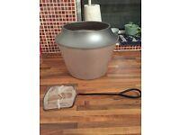 Goldfish bowl / small fish tank / fish net