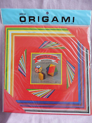 AITOH ORIGAMI PAPER 60 sheet color folding papers, 3 sizes - Origami Sheet