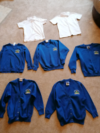 Bundle of Westfield Primary School Cardigans and Jumpers age 7-8 years