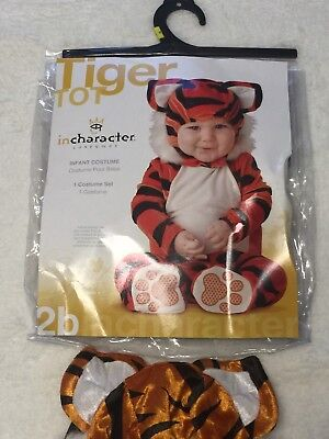 Tiger TOT In-Character Plush Costume Totally Adorable TODDLER Sz M 12-18 (Tiger Tot Kostüm)