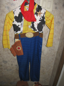 Deluxe~WOODY Toy Story Cowboy Halloween Costume Child's