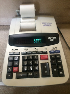 12 Digit Commercial Printing Calculator
