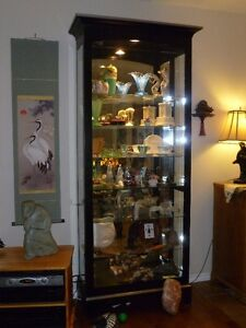 7 ft. tall display case