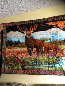 TAPIS MURAL NEUF  A    50 $