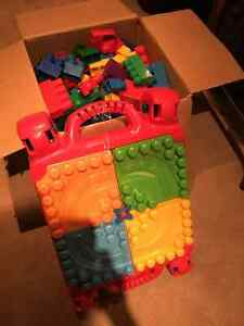 Large Lego with Acitivity Table Cambridge Kitchener Area image 1