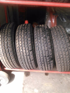 4 studded tires.