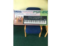 Yamaha PSR-210 electronic keyboard