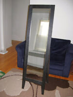 Traditional Style Standing Mirror, like NEW