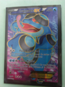 Carte pokemon Crapustule EX full art