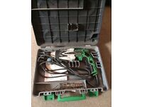 Tools collection electrical and hand Hitachi Bosch etc.
