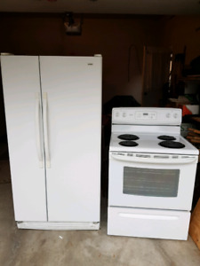 Kenmore Refrigerator and Stove for sale