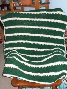 BRAND NEW HAND CROCHETED LAP BLANKETS FOR SALE