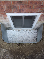 ENLARGE BASEMENT WINDOW CUT & INSTALLATIONS-30 YEARS EXP