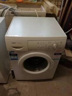 Bosch front load washing machine 6.5 kg