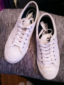 Converse Jack Purcell White leather sneakers