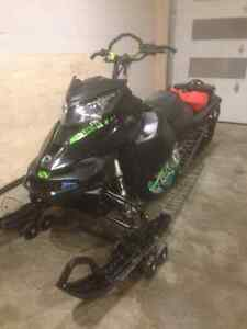 "2014 Skidoo Summit 800 154"" SP Etec T-motion Regina Regina Area image 8"