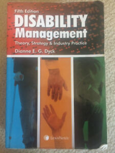 Disability Management 5th Edition by Dianne E. G. Dyck